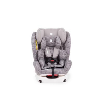 Стол за кола 0-1-2-3 (0-36 кг) 4 Fix Light Grey Melange Kikka boo 31002070015