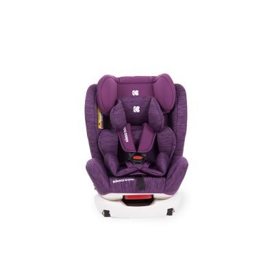 Стол за кола 0-1-2-3 (0-36 кг) 4 Fix Purple Melange Kikka boo 31002070014
