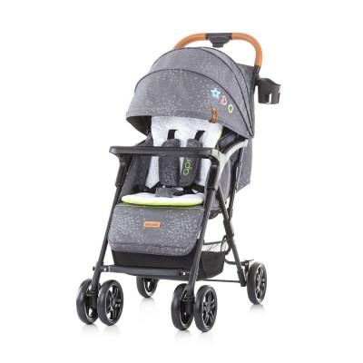 """Chipolino Детска количка 0+ """"Ейприл"""" сив лен LKAP02001GL"""