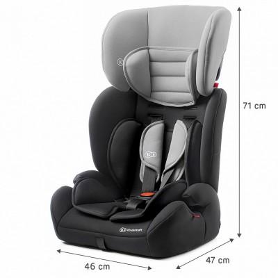 Столче за кола KinderKraft Concept 15-36 кг сиво KKFCONCBLGR000