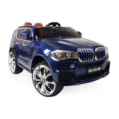 Акумулаторен джип BMW M5X RD500 с MP4 черен 106788