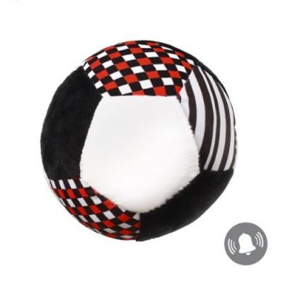 Плюшена дрънкалка топка C-more 5901435409206
