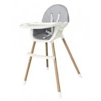 Стол за хранене Nutri Grey Kikka boo