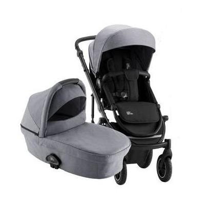 Britax - Комбинирана количка Smile III Essential - Frost Grey / Black 4202759