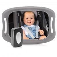 reer   Огледало за наблюдение в автомобил Reer BabyView LED