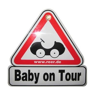 "reer | Табелка за кола ""Baby on Tour"" Reer 80210 80210"