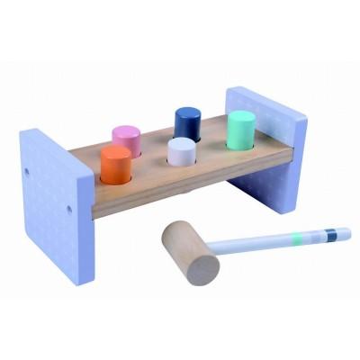 MONI TOYS Дървена играчка с чукче 2525 108572