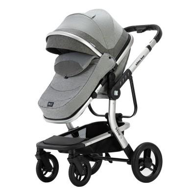 Комбинирана количка 3 в 1 с кош Irene Grey Kikka boo 31001010177