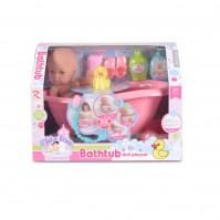 Кукла 31cm с вана 8658