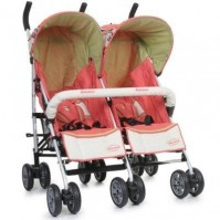 Twin Classic Red - количка за близнаци Cangaroo