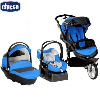 TRIO S3 BLACK BLUE - комбинирана количка Chicco