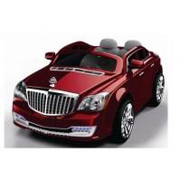 Акумулаторна кола Maybach 12v с 2 двигателя - червен металик