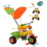 Smart Trike - Триколка 3 в 1 Канди/Candy - зелено жълта