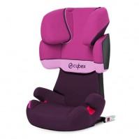 Cybex Solution X Fix Purple Rain 2014г Столче за кола 15-36кг