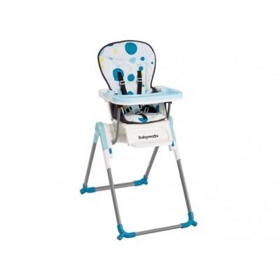 Slim стол за хранене Babymoоv - цвят син