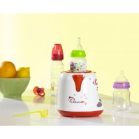 Red -Grey Babymoov Уред за подгряване на шишета експрес