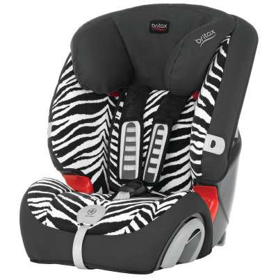 Столче за кола Britax Evolva 1-2-3 plus - Smart Zebra 4122166
