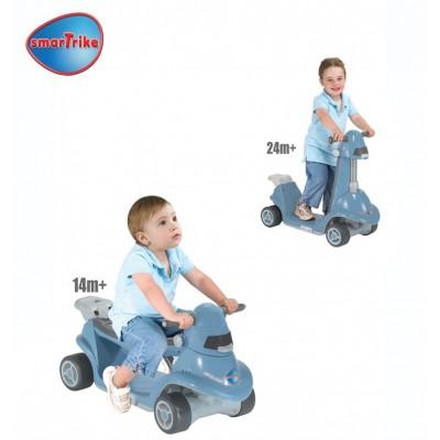 SMART TRIKE скутер 2 в 1 син