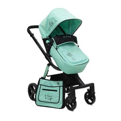 Детска комбинирана количка X-Point Cangaroo- резида