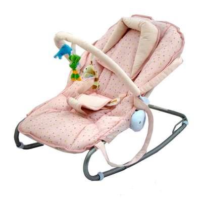 Бебешки шезлонг Azaria - розов цвят 503115945