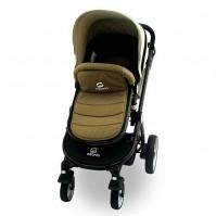 Комбинирана бебешка количка Azaria - Бежова