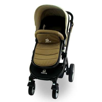 Комбинирана бебешка количка Azaria - Бежова 516116353