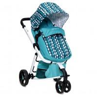 Бебешка количка Sarah Cangaroo - синя