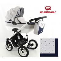 Бебешка количка Adbor 3в1 Zarra NEW 2016 - цвят 16