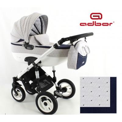 Бебешка количка Adbor 3в1 Zarra NEW 2016 - цвят 16 30141 - 16
