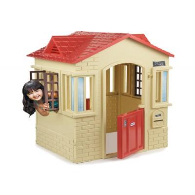 Къща в бежово Little Tikes 320149