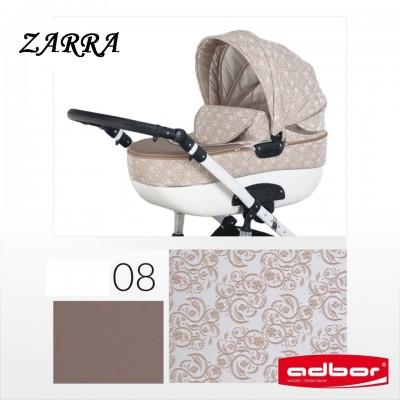 Комбинирана бебешка количка Adbor 3в1 Zarra - цвят 08