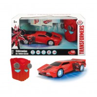 Кола с радиоуправление Sideswipe Transformers Dickie