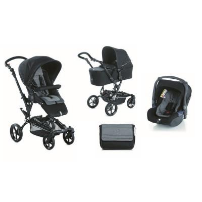 Бебешка количка Jane Epic Koos 3в1 2017 - черна S90 5447.S90