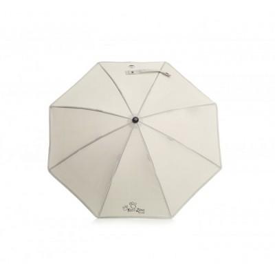 Бяло чадърче за количка анти УВ защита Jane