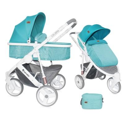 Бебешка количка Lorelli Calibra 2017 2в1 - аквамарин 10020781741