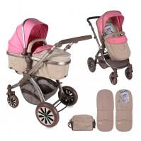 Бебешка количка AURORA Lorelli 2017 - розова