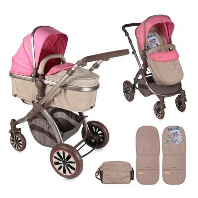 Бебешка количка AURORA Lorelli 2017 - розова 10020921746
