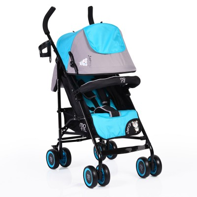 Лятна детска количка Jerry Moni - синя