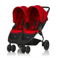 Количка за близнаци Britax B-Agile Double - червена