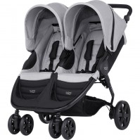 Количка за близнаци Britax B-Agile Double - сива