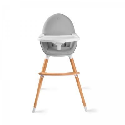 Столче за хранене 2в1 KinderKraft FINI - сиво KK99230