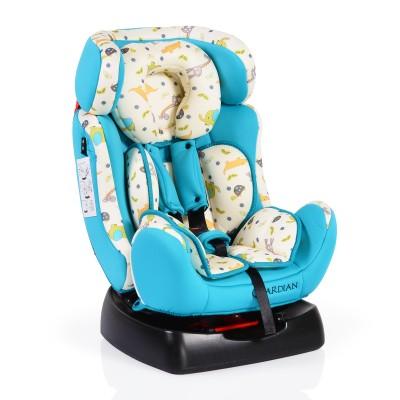 Столче за кола Guardian 0-25кг със сенник - син