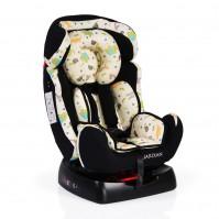 Столче за кола Guardian 0-25кг със сенник - черно