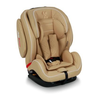 Стол за кола MARS+SPS Isofix 9-36кг Lorelli 2018 - бежова кожа 10071071768