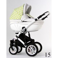 Детска количка Retrus Avenir S-line 3в1 - цвят 15