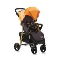 Бебешка количка Kikkaboo Verona 2в1 - жълта