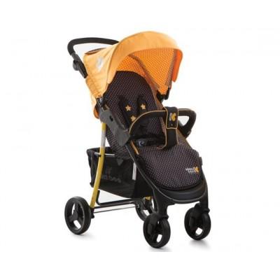 Бебешка количка Kikkaboo Verona 2в1 - жълта 31001020002