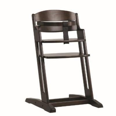 Дървено столче за хранене DanChair - кафяво 1200082