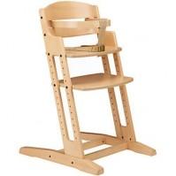 Дървено столче за хранене DanChair - натурално