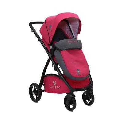 Комбинирана детска количка Stefanie 2в1 Cangaroo - розова